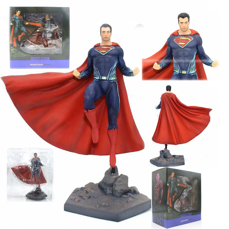Doll Figure-Model Collection-Toys Iron Studios Avengers Superman Justice League PVC 27cm