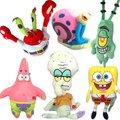 Candice guo! nueva llegada de la venta caliente super lindo juguete de peluche muñeca colorida pulpo cangrejo caracol regalo de Navidad 6 unids mucho