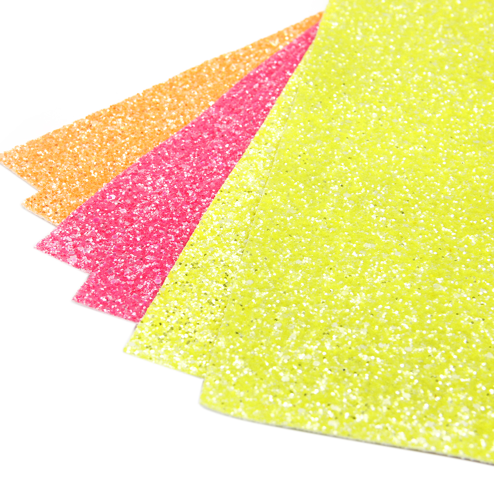 David accessories 20*34cm glitter vinyl faux artificial Synthetic leather fabric hair bow diy decoration crafts 1piece,1Yc3847