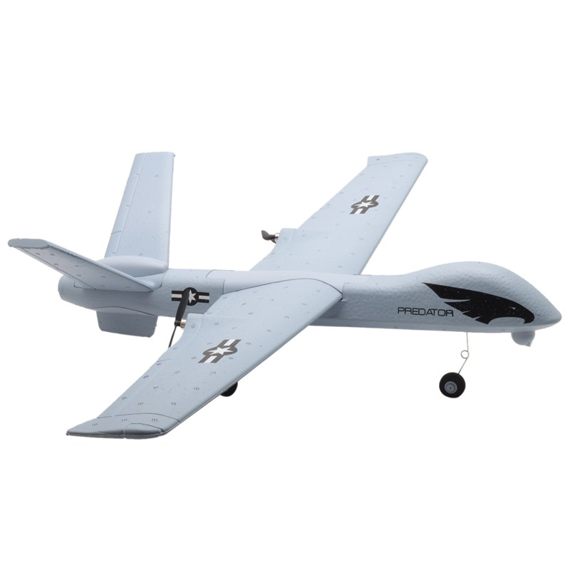RC Airplane Plane Z51 Predator 660mm Wingspan 2.4G 2CH Glider RC Airplane RTF Built in DIY US RC Airplane plane jet Flying Model|RC Airplanes| |  - title=