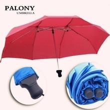 Folding Umbrella Couple Guarda-Chuva Kids Lovers Three PALONY Hot-Selling