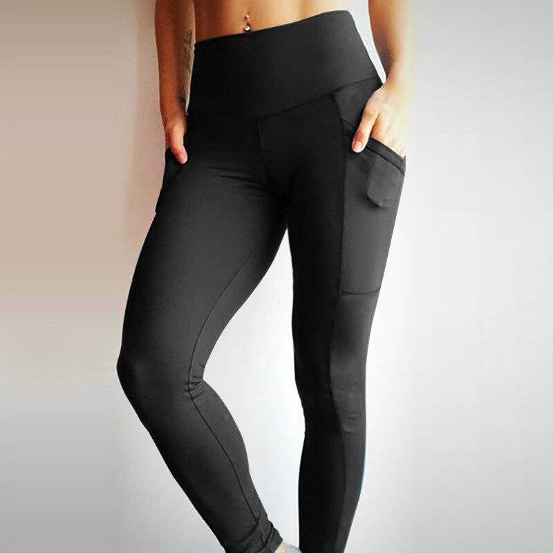 abc290f9e98ee Detail Feedback Questions about Leggings Sport Fitness Women Workout Runway  Sexy Pockets Stretch Bodycon High Waist Comfort Brazilian School Gym Yoga  ...