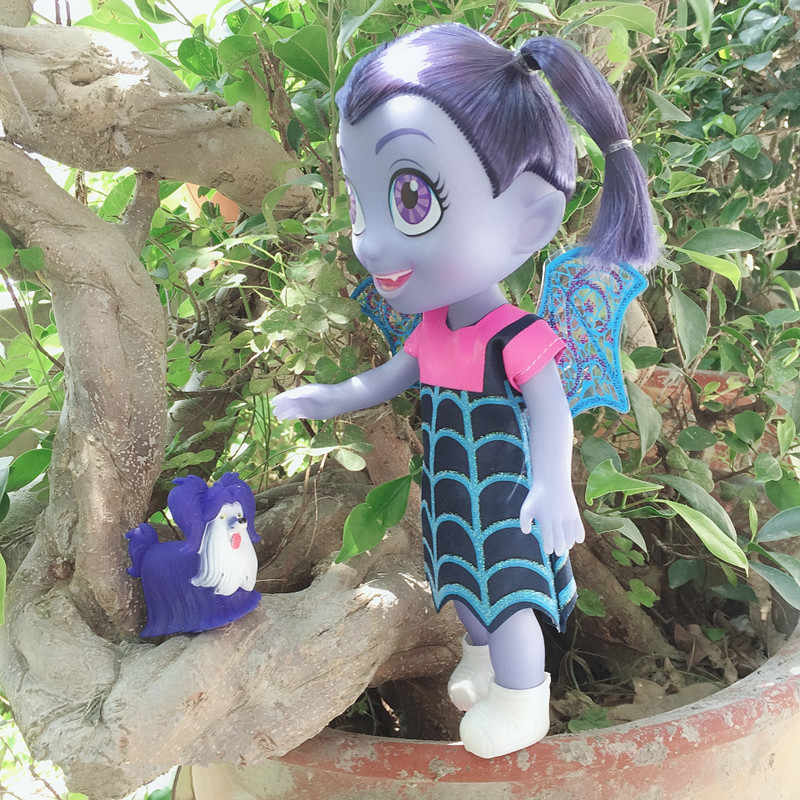 Large Size Vampirina Junior The Vamp Doll with Music Birthday Gifts Action Figure Toys for Children The Vamp  Girl Toy