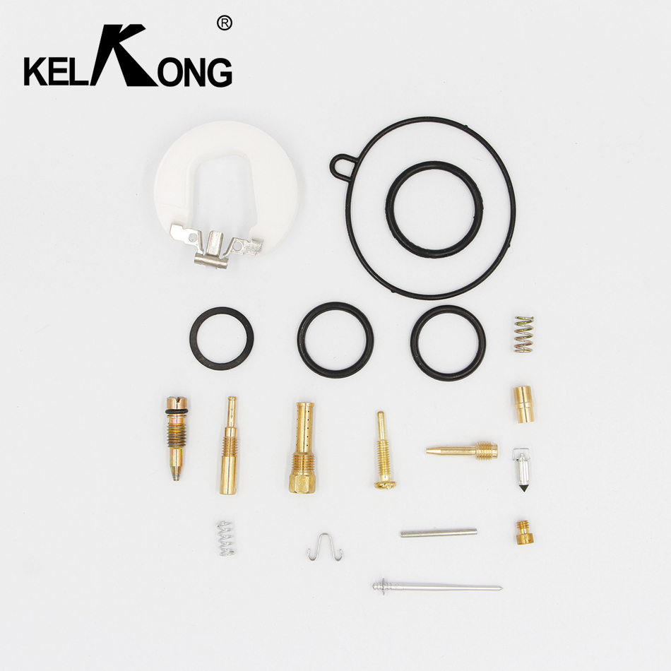 цена на KELKONG OEM PZ19 Carb Parts 50cc 70cc 110cc 19mm Carburetor repair rebuild kit for pit dirt parts quad atv motorcycle