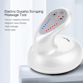 Akumulator gorący kompres Guasha masażer elektryczny podgrzewany narzędzie do masażu próżniowe ujemne ciśnienie detoksykacji szczupły masażer 31 tanie i dobre opinie CkeyiN CN (pochodzenie) BODY Średni HY086