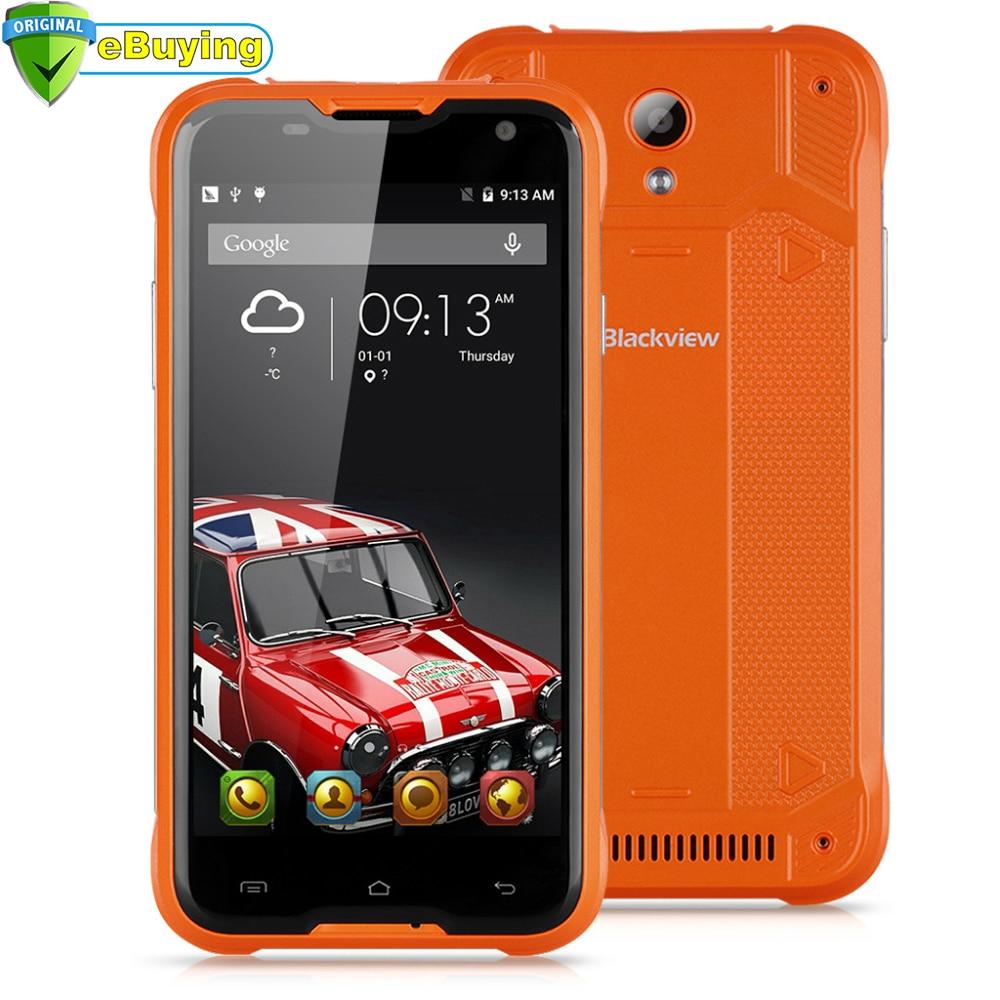 """bilder für Blackview BV5000 Smartphone Android 5.1 MTK6735 Quad Core wasserdichte Handy 5,0 """"bildschirm 2 GB RAM 16 GB ROM 8MP 4G handy"""
