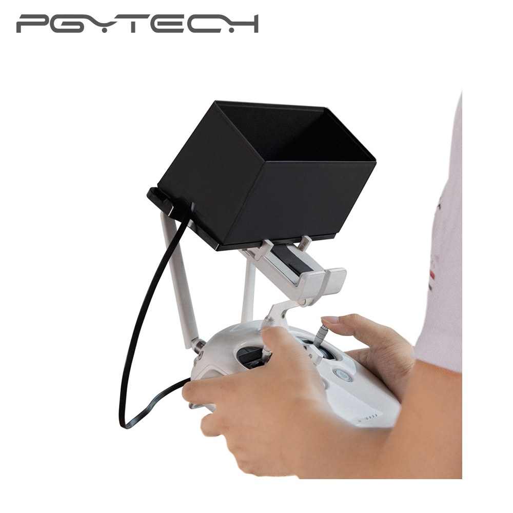 PGYTECH Mavic Pro/Air Remote Control Monitor Phone Sun Hood Sunshade For DJI Phantom 4 Pro/4/3 Inspire 2 Spark Osmo Accessories
