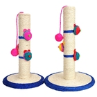 Cat Toys Cat Scratch Posts Natural Sisal Scratch Boards Clowns With Balls Modeling With Mice Cat Scratch Plates