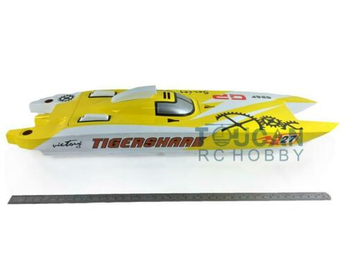 E52 Bumblebee Electric Racing RC <font><b>Boat</b></font> <font><b>Model</b></font> KIT <font><b>Hull</b></font> Only for Advanced Player TH13485 image