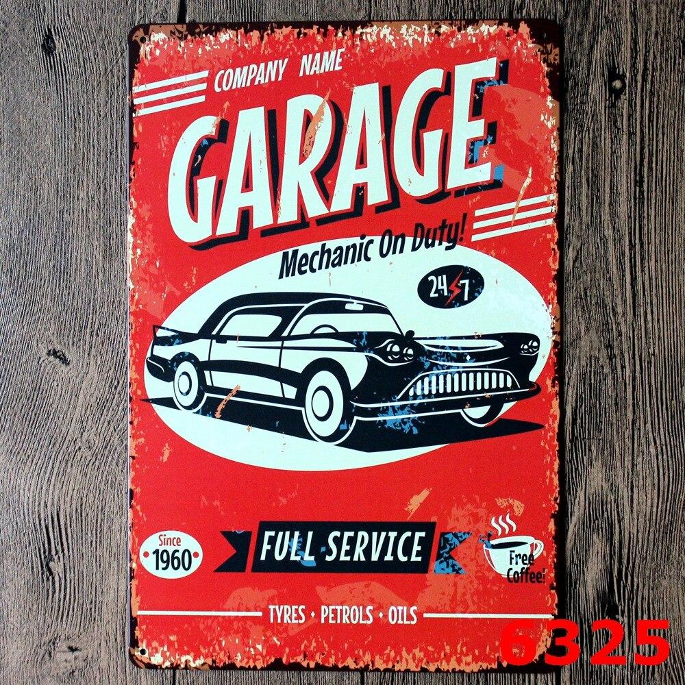 BLECHSCHILD USA WERKSTATT FULL SERVICE GARAGE