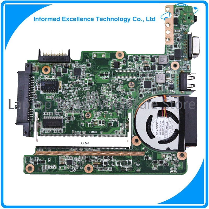 For Asus Eee pc 1015px laptop motherboard for intel CPU with integrated graphics card rev 1.4 45 days warranty for hp dv7 580974 001 laptop motherboard for intel cpu with 8 video chips non integrated graphics card