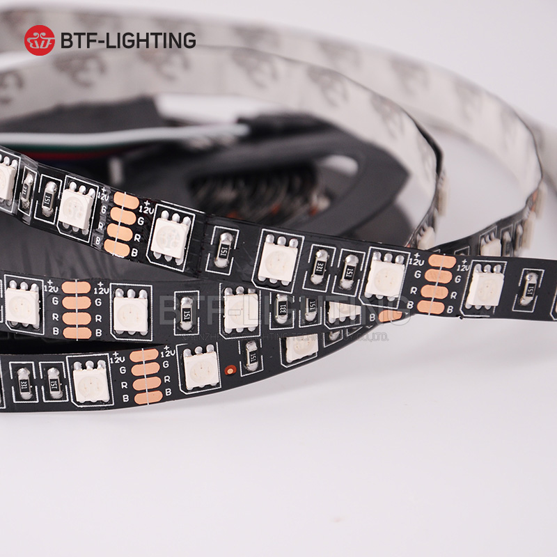 LED Strip 5050 SMD DC12V 60LEDs/m Flexible LED Light RGB RGBW 300LEDs 5m/roll 5050 LED Strip Lamp TV Led Ribbon Tape Waterproof