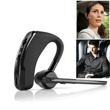 Business Bluetooth Headset Wireless Earphone V4.1 Handsfree With Microphone Wireless Earhook For Android Iphone Xiaomi Samsung lisn business bluetooth headset wireless earphone car bluetooth v4 2 csr phone handsfree mic music for iphone xiaomi samsung