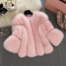 89213b2f489 Furry Fur Coat Women Fluffy Warm Long Sleeve Outerwear Autumn Winter Coat  Jacket Hairy Collarless Overcoat Plus Size 3XL A4
