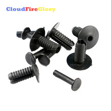 CloudFireGlory For BMW 6mm Push Plastic Rivet Pin Clip Bumpers Interior Trim Panel Fascia A0009905492