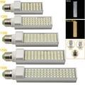 E27/G23/G24 LED Horizontal Plug Light 9W 12W 13W 15W 16W SMD5050 AC85-265V Spotlight Bulb Lamp Light For Indoor Outdoor Lighting