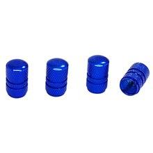4 шт Металлические Крышки для автомобильных шин синий