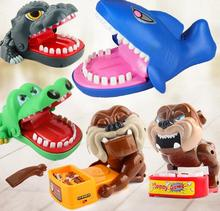 Fun Toys Crocodile Dog Dinosaurs Dentist Bite Finger Game Funny Crocodile Toy for Kids Gift YH1178