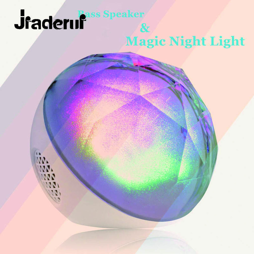 Jiaderui Magic Projector Multicolor Night Lamps Bluetooth Bass Speaker LED Music Lights Control Kids Xmas Night Lamp with Remote yimia creative 4 colors remote control led night lights hourglass night light wall lamp chandelier lights children baby s gifts