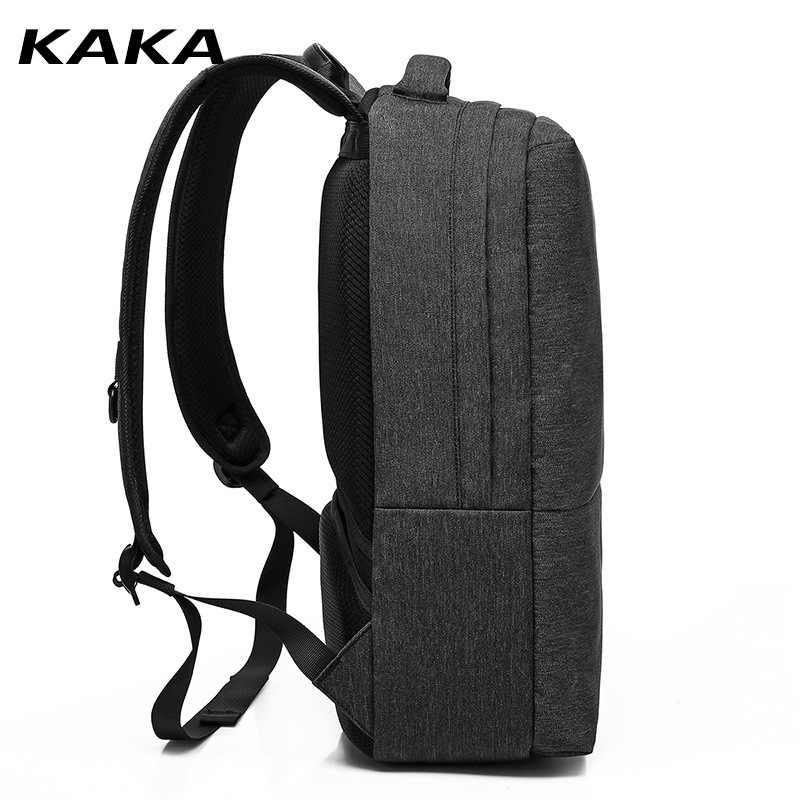 Кака рюкзак мужской рюкзак мужская школьная сумка Школьный рюкзак дорожная сумка спортивная сумка Упаковка USB зарядка анти кража 2019 Новые рюкзаки