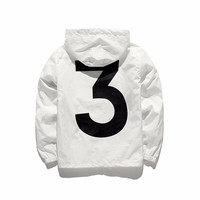 Drop Shipping 3 Tour Season 3 Windbreaker Jacket Men Logo Letter Printed Women Jacket Men Thin