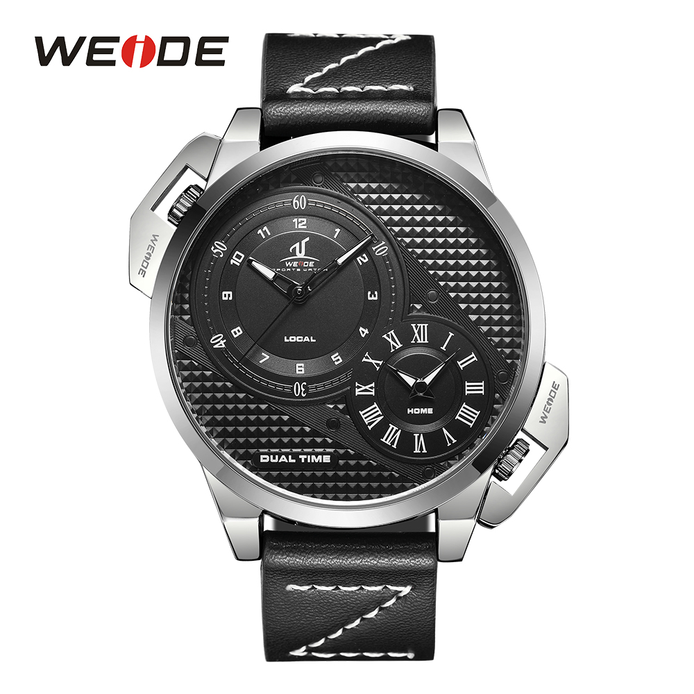WEIDE High Quality Sport Watch Stainless Steel Strap Man's Quartz Clock Military Wristwatches Relogio Masculino Watches For Men weide new men costly quartz watches luxury brand sport watch fashion military high quality wristwatches relogio masculino wh3313