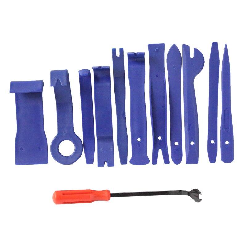 12 Stücke Auto Radio Entfernung Werkzeuge Set Auto Tür Panel Clip Trim-dashboard Entfernung Öffnen Hand Werkzeuge Set