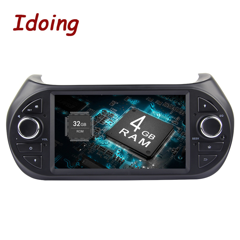 Idoing Steering Wheel 7 1Din 4G 32G 8 Core Android 9 0 Car Video GPS Player