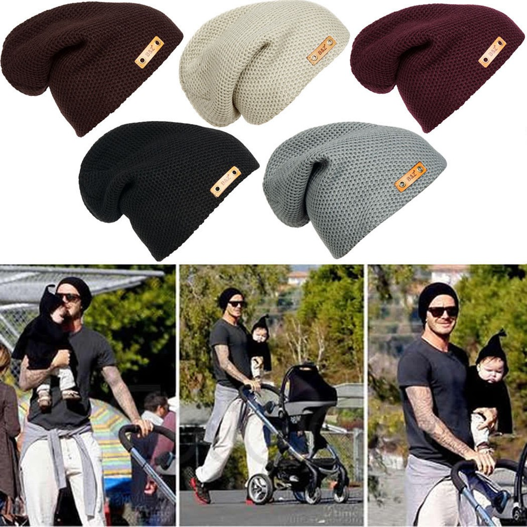 2017 Hot Fashion Fall Winter Unisex Baggy Beanie Oversize Hat Ski Knitting Slouchy Cap Men day s reflected in you crossfire book 2