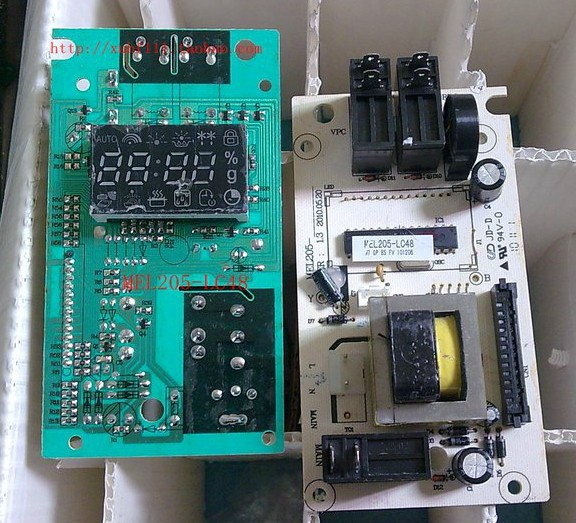 Free shipping 100% tested Microwave Oven computer board MEL205-LC48/lc98 G80F23CN1P-G5 mainboard on sale free delivery 323 car engine computer board ecu 5wk9037 7500255 specials are factory board computer