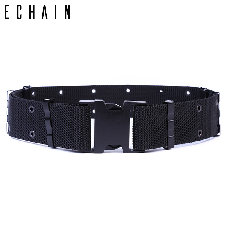 Adjustable Nylon   Belt   Male Army Tactical   Belt   Mens Military Waist Canvas   Belts   Cummerbunds Outdoor Heavy Duty Combat   Belts