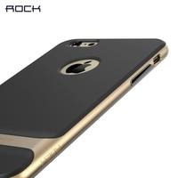 Original Rock For IPhone 6 6plus Silicon PC TPU Neo Hybrid Durable Slim Armor Protective Case
