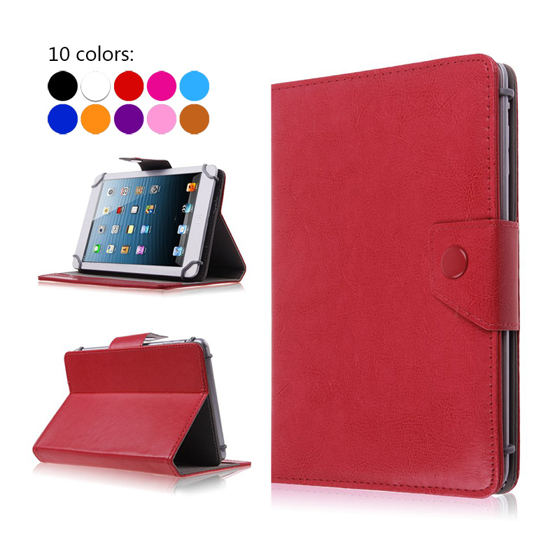 Universal 7 inch Tablet PU Leather Protective skin Case Cover For Alcatel Onetouch Pixi 7/Alcatel Onetouch Pop 7 Tablet +3 gifts