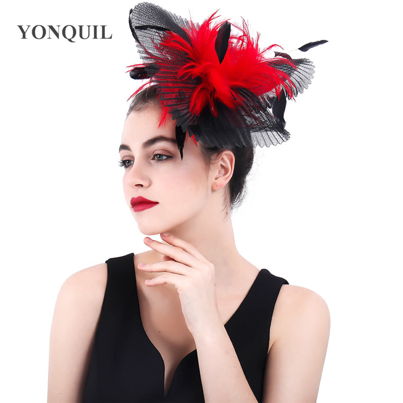 Red And Black Wedding Hair Style