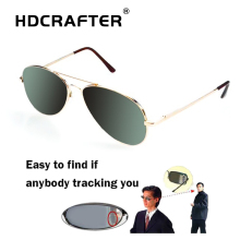 Anti UV Anti-Tracking Sunglasses Anti-Track Monitor Sunglasses Rearview Sunglasses Pilot Glasses Anti Track Security Mirror все цены