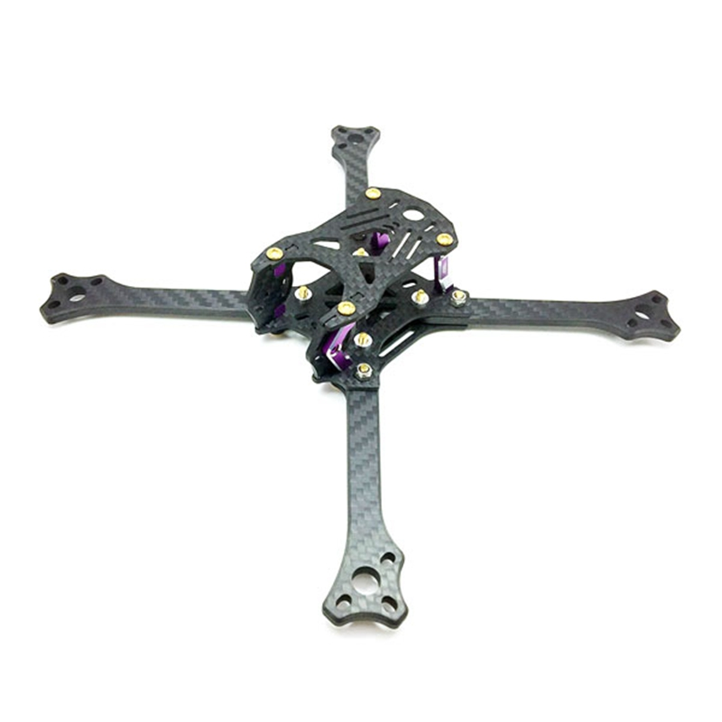 3B-R 211 Positive X Arm 211mm Wheelbase RC Quadcopter FPV Racing Drone Frame Kit 5mm Arm Carbon Fiber 72g VS GEPRC drone with camera rc plane qav 250 carbon frame f3 flight controller emax rs2205 2300kv motor fiber mini quadcopter