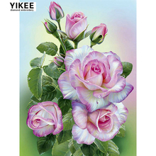 H397 5d diamond painting flowers,square,full,diy,cross stitch,embroidery paint kit with LUXURY TOOL