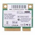 Laptop Placas de Rede Wi-fi Metade Mini PCI-E AR9285 AR5B95 Cartão Computador 518436-002 Notebook Sem Fio Placas de Rede VCA66 P10