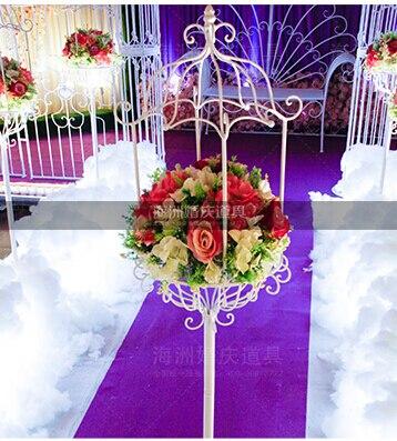 свадебный путеводитель - New 1.5m height Wedding Road guide pillar stand vase