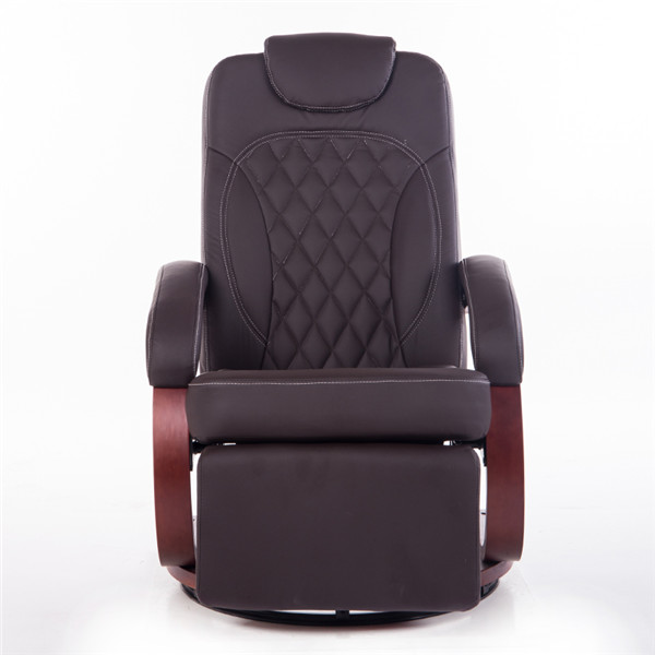 Large Leatehr Recliner Chair Lounge Living Room Furniture Reclining Armchair