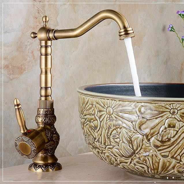 Aliexpress.com : Buy High Quality Basin Faucets Antique Bronze ...