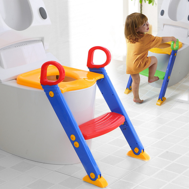 bioby Kids Potty Training Seat with Step Stool Ladder