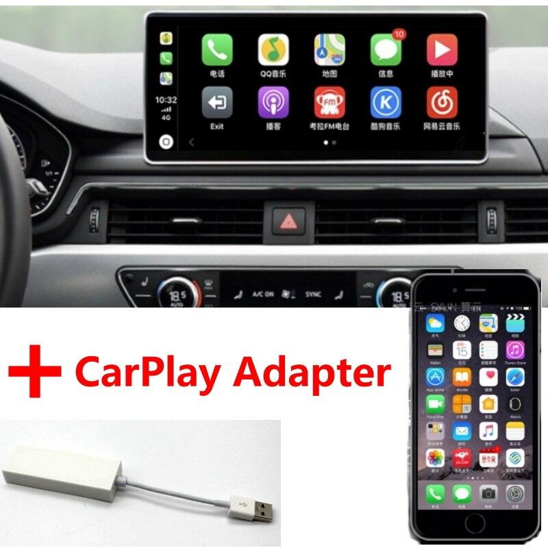 Liislee lecteur multimédia de voiture NAVI 10.25 pouces pour Audi A5 F5 S5 RS5 2016 ~ 2018 CarPlay adaptateur Radio stéréo GPS Navigation