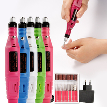 Nail Electric Apparatus for Manicure US/EU Pedicure Machine Milling Drill Bits Set Art Cuticle Acrylic Gel Remover