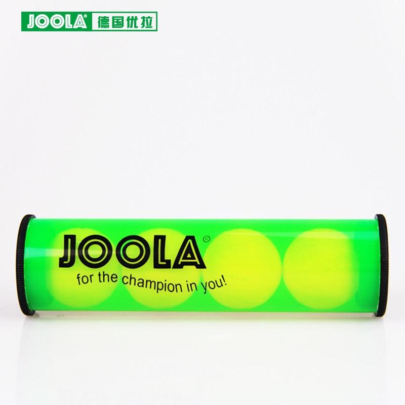 JOOLA Table Tennis Rubber Roller Ball Storage Box Ping Pong Set Accessories Tenis De Mesa