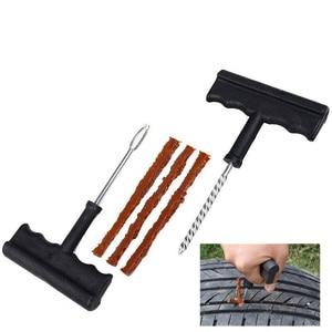 Image 5 - 2020 New Car Tire Repair Tool Kit For Tubeless Emergency Tyre Fast Puncture Plug Block Air Leaking Truck/Motobike/Car Accessorie