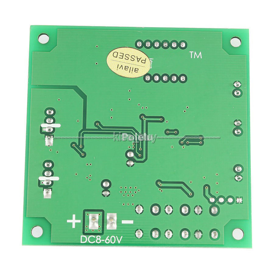 Fan Thermostat Governor 2 Way 4 Wire PWM dc 12V/24V/ 48V Temperature Speed  with digital led Dispaly-in Integrated Circuits from Electronic Components  ...
