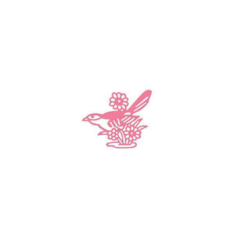 Naifumodo Happy Birds Animal Metal Cutting Dies for Card Making New Arrival for 2019 Scrapbooking Paper Craft Dies Scrapbooking in Cutting Dies from Home Garden