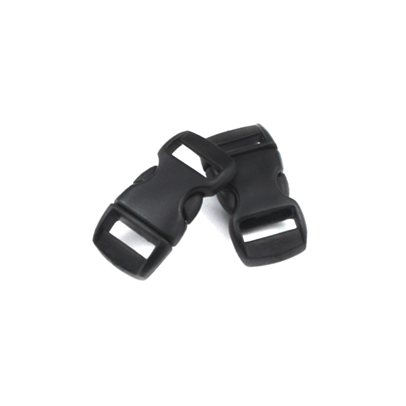 20pcs/lot 3/8 10mm Plastic Clasps Side Release Buckles For Paracord Bracelet Backpacks Shoes Bags Cat Dog Collar Accessories Making Things Convenient For Customers Arts,crafts & Sewing