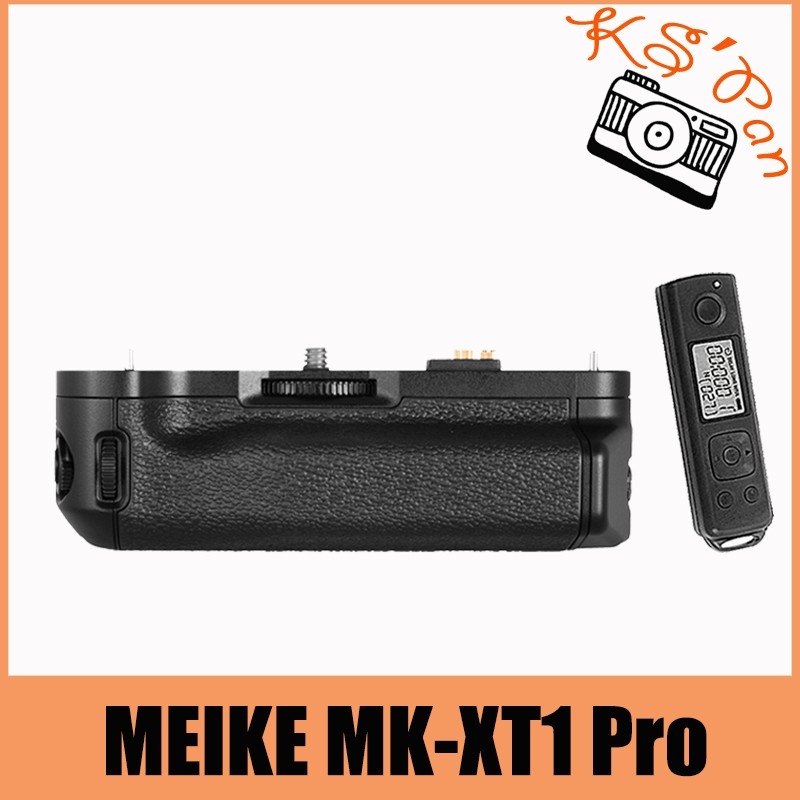 MEIKE MK-XT1 Pro Built-In 2.4g Wireless Remote Control Battery Grip for Fujifilm X-T1 as VG-XT1 meike mk xt1 battery grip for fujifilm x t1 as vg xt1